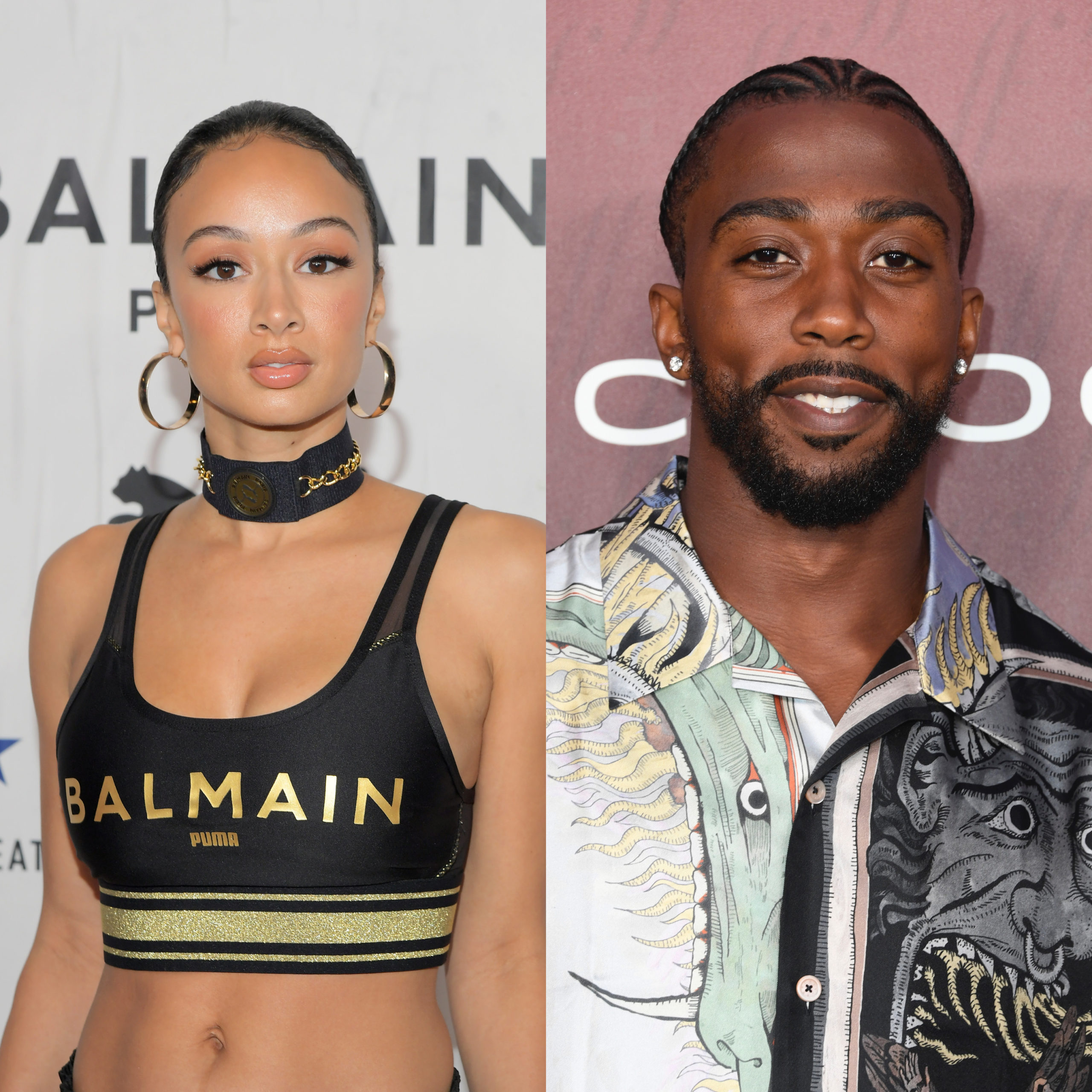 Draya Noticed Supporting Her Rumored Bae Tyrod Taylor At ...